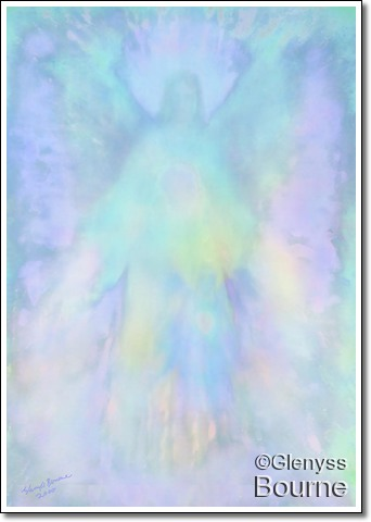 Angel of Healing painting