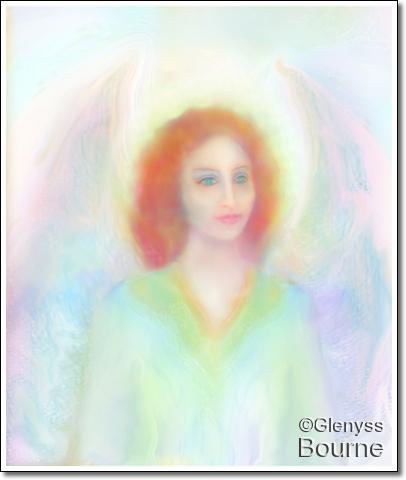 Archangel Ambriel painting