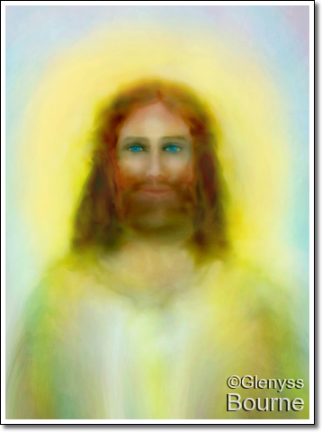 Jesus loves You - Inspiration painting