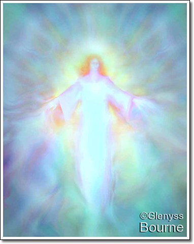 Archangel Haniel painting
