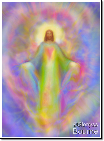 Jesus Loves You! Enlightenment painting