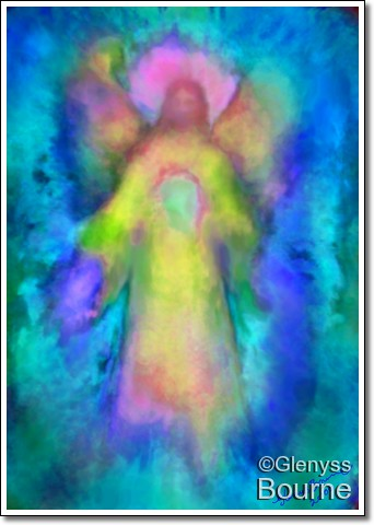 Angel of Unconditional Love - Empathy painting