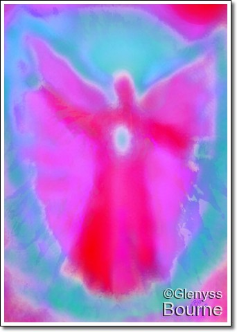 Angel of Intuition painting
