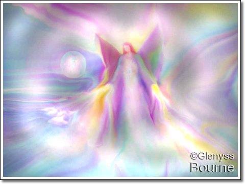 Angel of Light - Lei Andra  painting