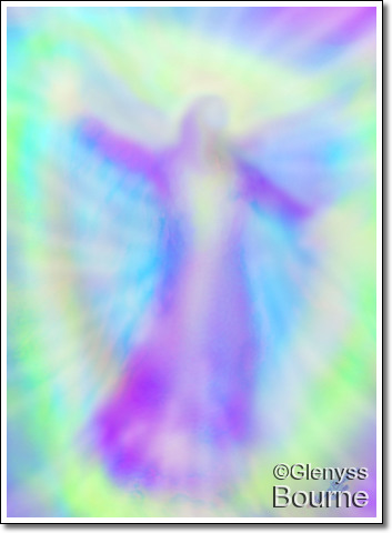 Angel of Confidence and Enthusiasm  painting