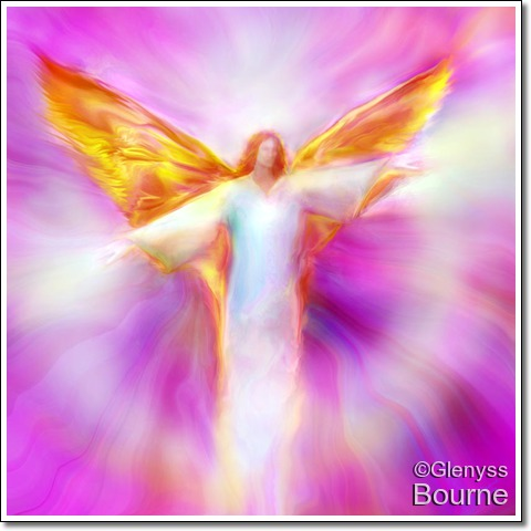 Angelic Image by Glenyss Bourne