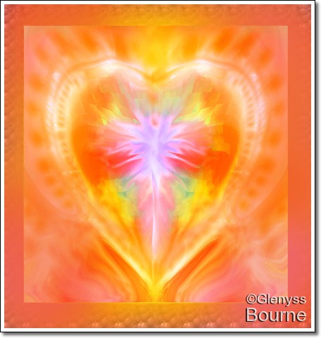 Angel of  the Sacred Heart  of  Action painting
