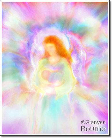Angel ofDivine Love and Protection, Elandra