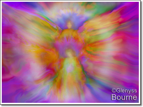 """Angel of Light - """"Your Guardian Angel"""" painting"""