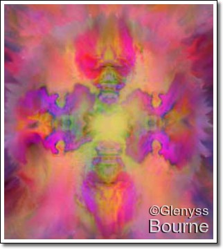 Angel of Universal Love painting