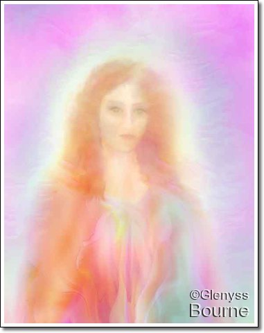 Lady Magda - The Ascended Mary Magdalene painting