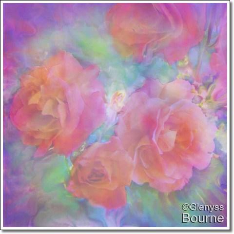 Rose Deva painting