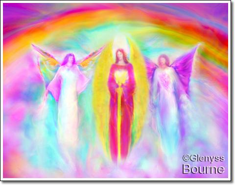 Anaheart Angel Artwork and Flower Remedies - Archangel