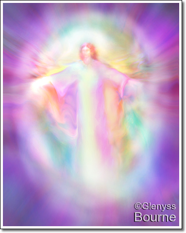 Archangel Azrael painting