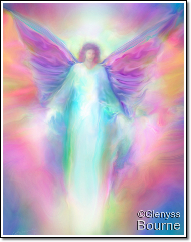 Archangel Raphael Healing painting